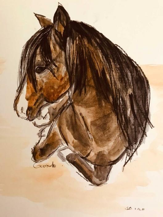 Pferde individuell gemalt |Das Atelier