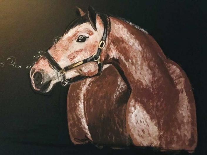 Pferdebilder auf Leinwand | Das Atelier
